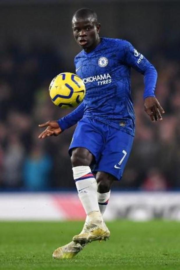 Kanté dispensé d'entraînement en petits groupes par Chelsea