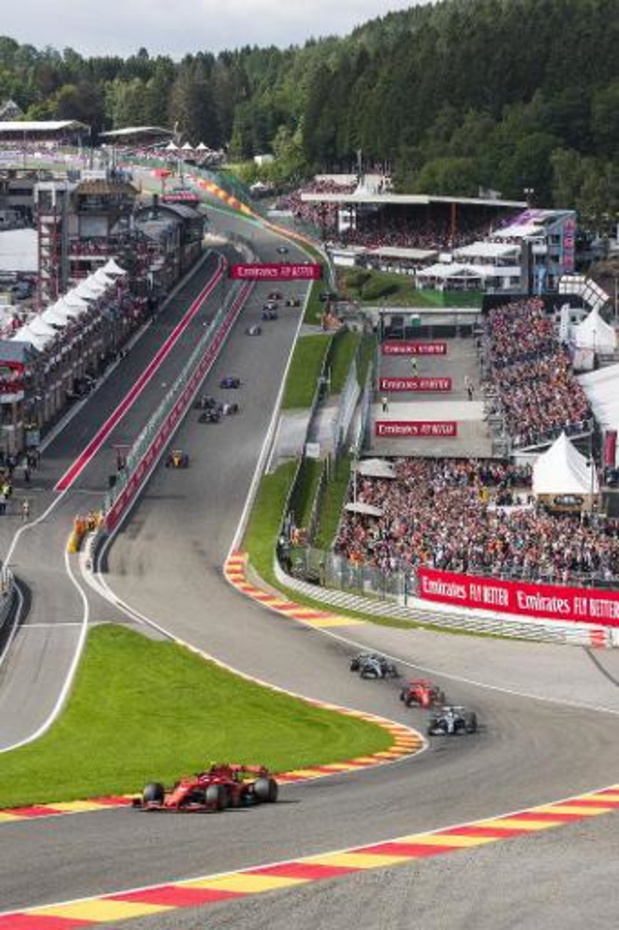 Le GP de Belgique de Formule 1 est toujours dans l'attente d'une décision du gouvernement