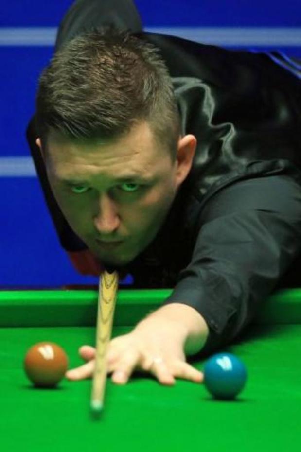 WK snooker - Kyren Wilson vecht zich voorbij Anthony McGill naar finale