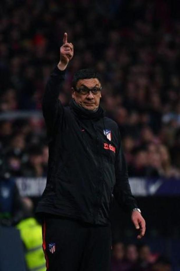 Assistent Diego Simeone verlaat Atlético Madrid voor carrière als hoofdcoach