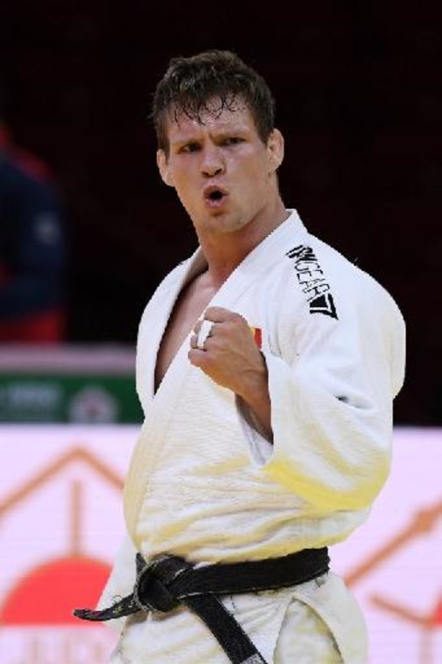 Matthias Casse (-81kg) champion du monde de judo pour la première fois
