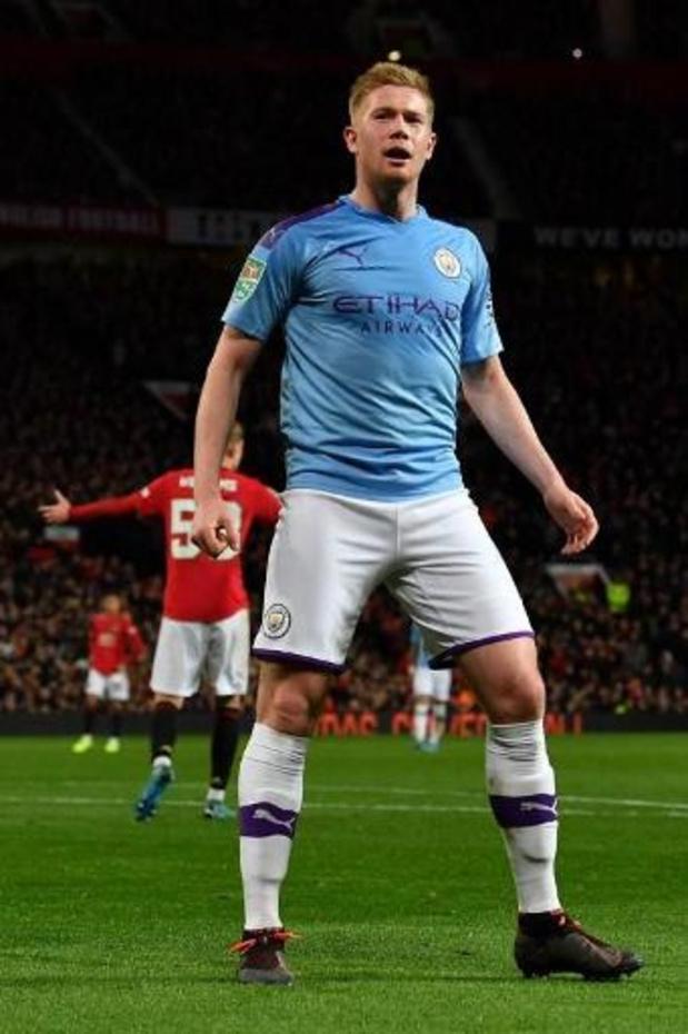 Kevin De Bruyne pense avoir une chance d'être élu joueur de l'année en Premier League
