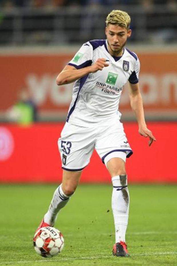Jupiler Pro League - Opéré de la cheville, Antoine Colassin (Anderlecht) manquera la fin de saison régulière