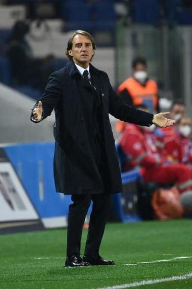 Italiaanse bondscoach Mancini test positief