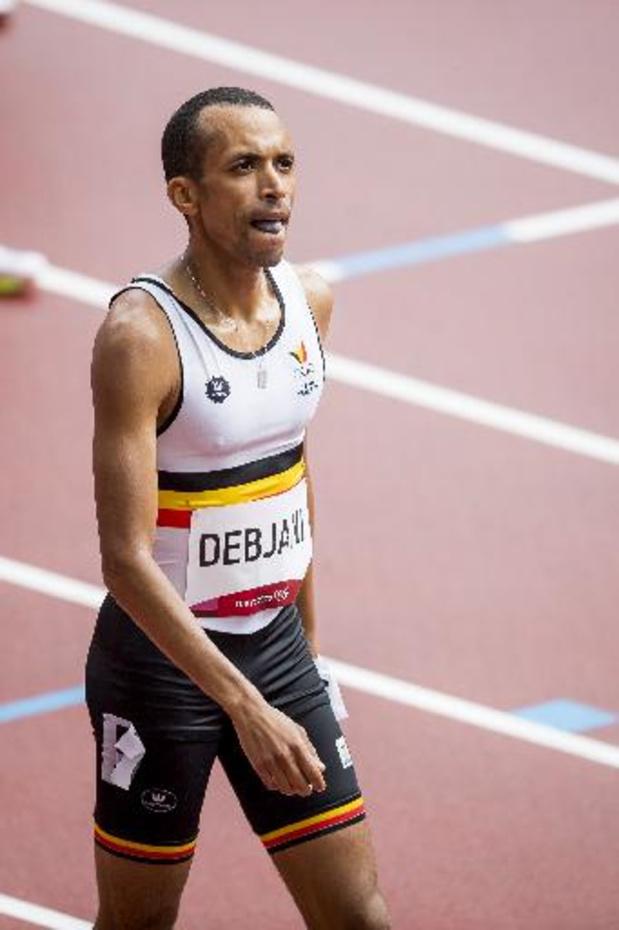 Ismael Debjani strandt in halve finales 1500m