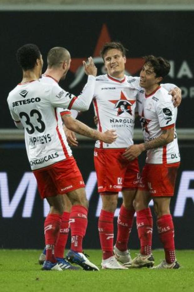 Jupiler Pro League - Zulte Waregem s'impose 0-3 sur la pelouse de La Gantoise