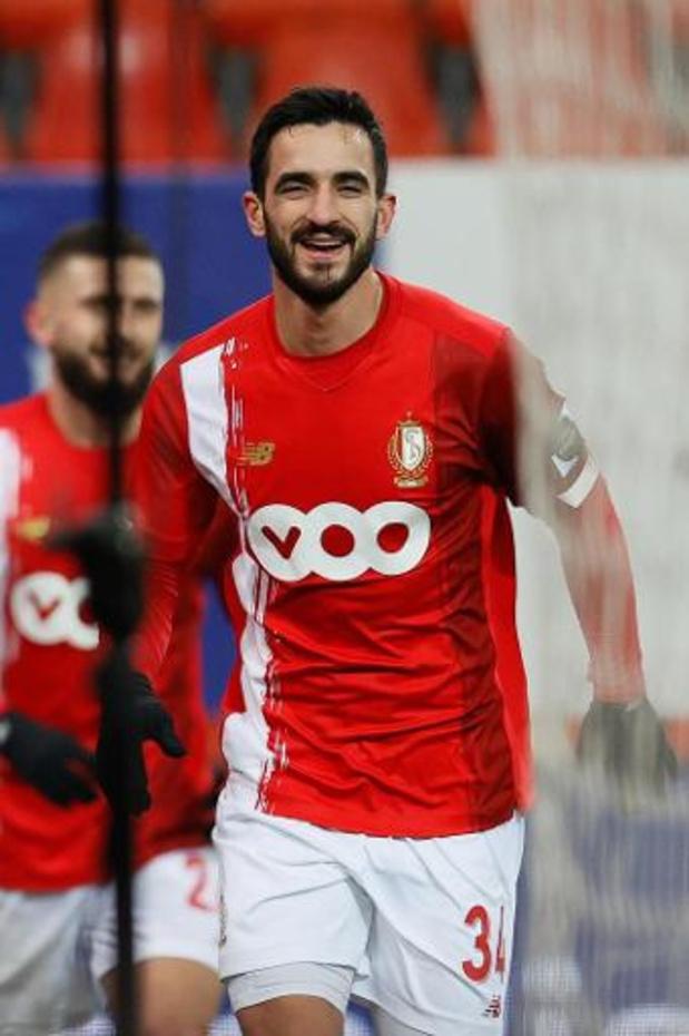 Le Standard en 4-4-2 face à Benfica, Laifis et Bokadi en défense centrale