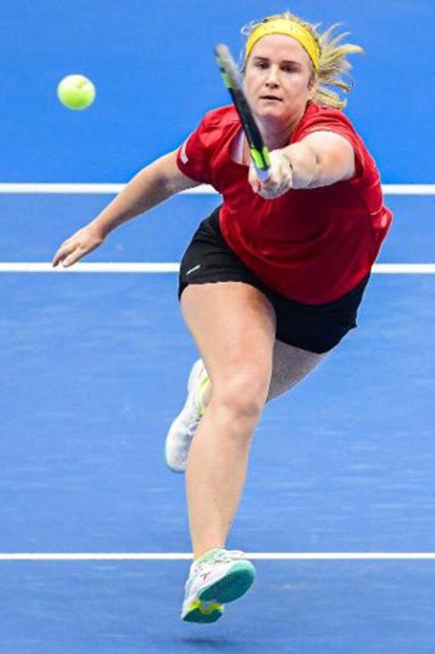 Ysaline Bonaventure arrêtée au 3e tour des qualifications de l'Open d'Australie