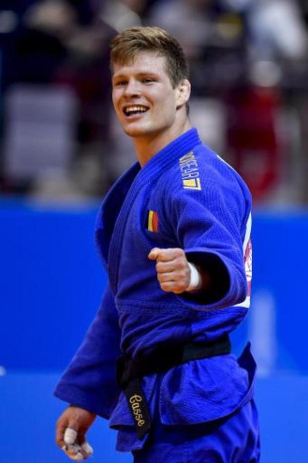 """Grand Chelem de Paris - Matthias Casse, médaille d'or (-81 kg): """"Le seul objectif reste les JO de Tokyo"""""""
