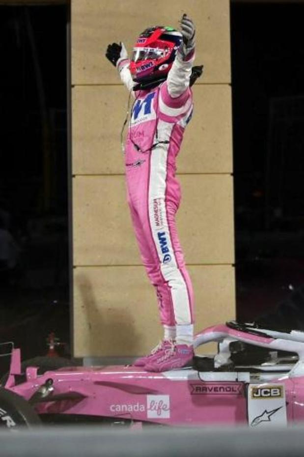 F1 - Première victoire de la carrière de Sergio Perez (Racing Point) au GP de Sakhir au Bahreïn