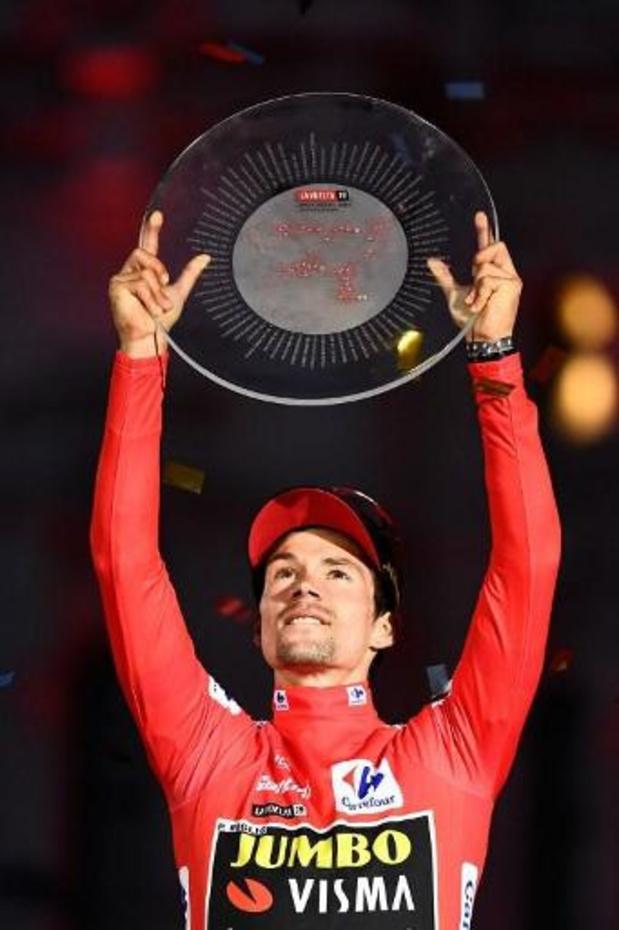 """Tour d'Espagne - Primoz Roglic: """"La plus belle victoire du cyclisme en Slovénie"""""""