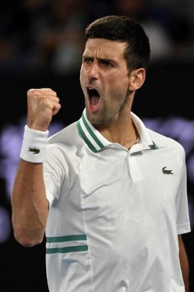 Djokovic verovert negende titel in Melbourne