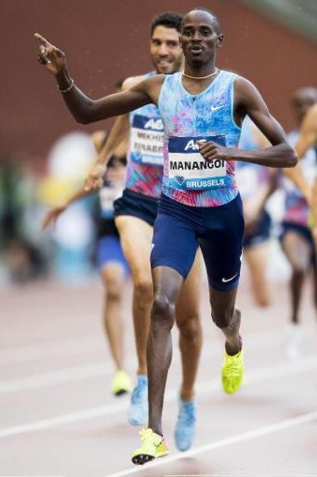 L'AIU suspend Elijah Manangoi, champion du monde 2017 sur 1.500 mètres