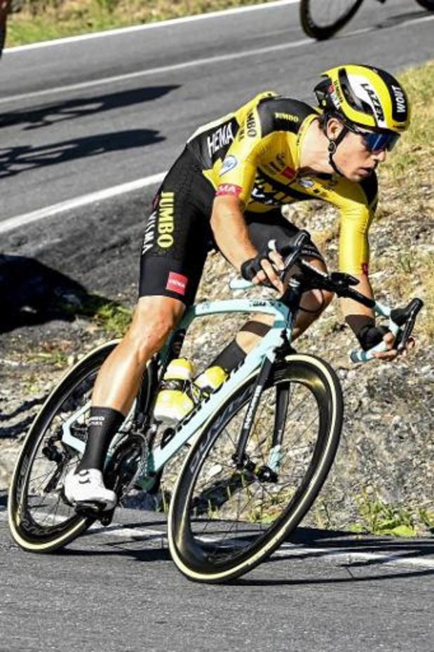 Wout van Aert enlève la première étape du Critérium du Dauphiné