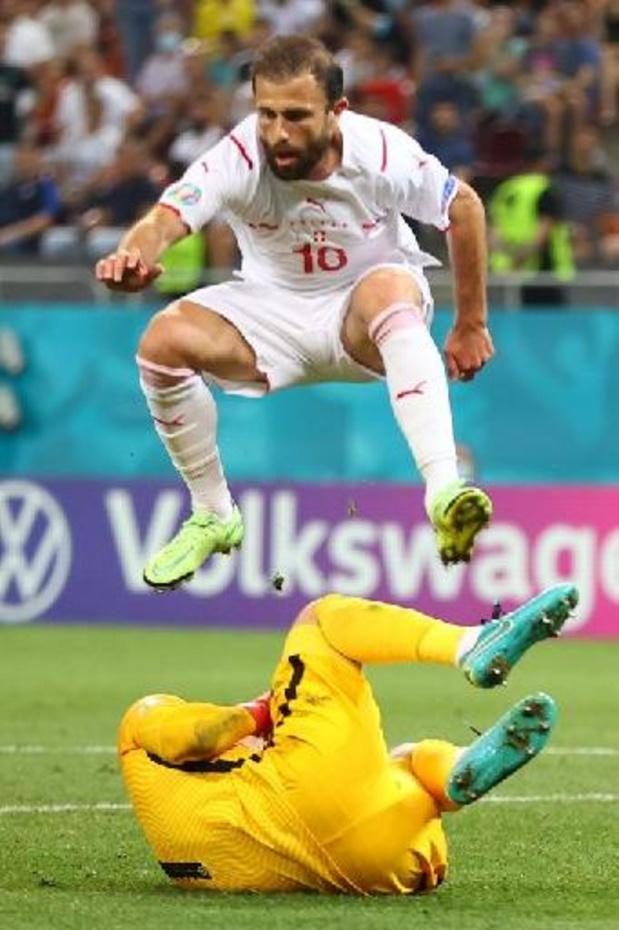 Admir Mehmedi zwaait af bij de Zwitserse nationale ploeg