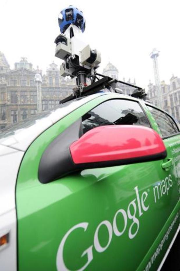 Google Street View wagens rijden opnieuw door België