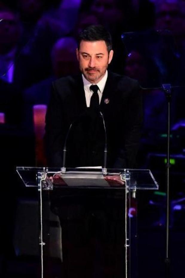 L'humoriste américain Jimmy Kimmel a ouvert la cérémonie des Emmy Awards en mode virtuel
