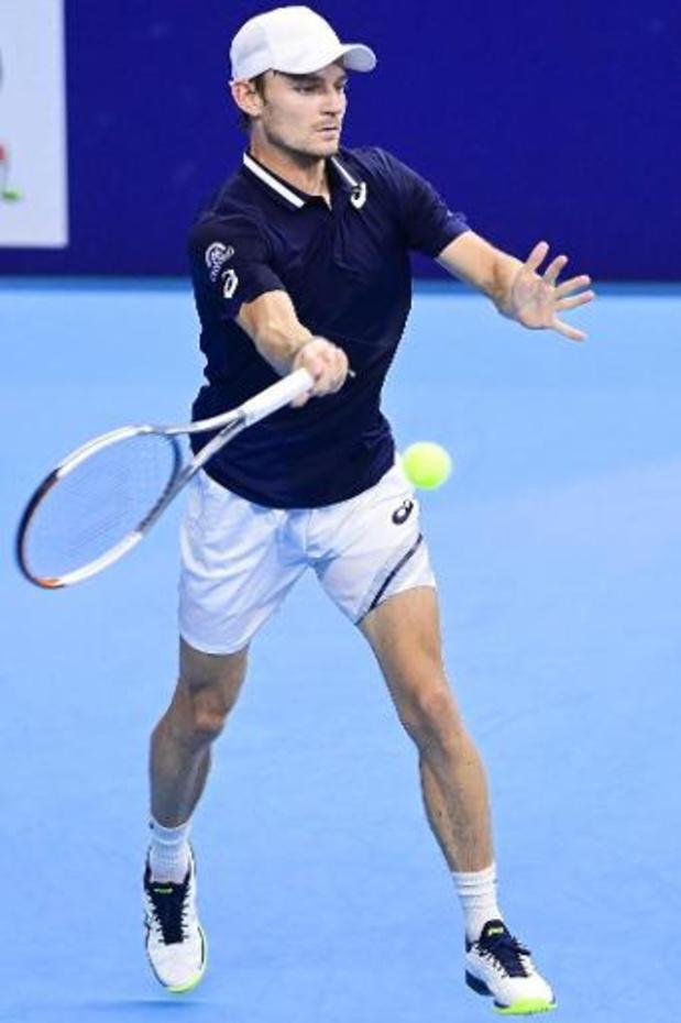 ATP Masters 1000 de Paris: David Goffin dispensé de premier tour et face à un qualifié au deuxième