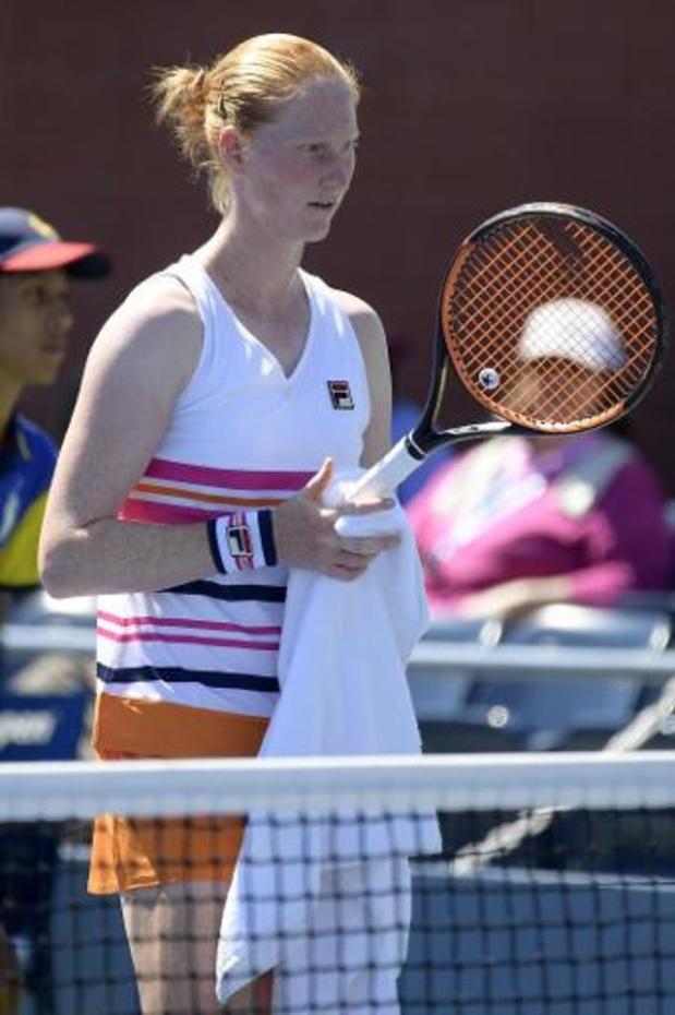 Alison Van Uytvanck geeft forfait voor halve finales dubbelspel in Hobart