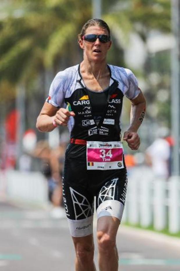 Triatlete Tine Deckers beëindigt haar carrière