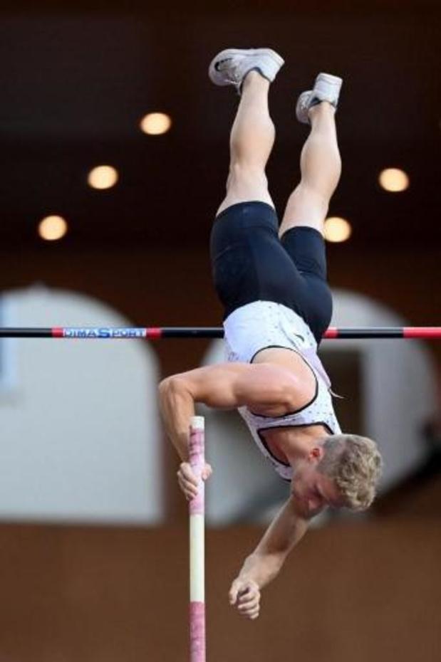 Ligue de Diamant - Ben Broeders 2e du saut à la perche à Monaco avec 5m70, Duplantis vainqueur à 6m00