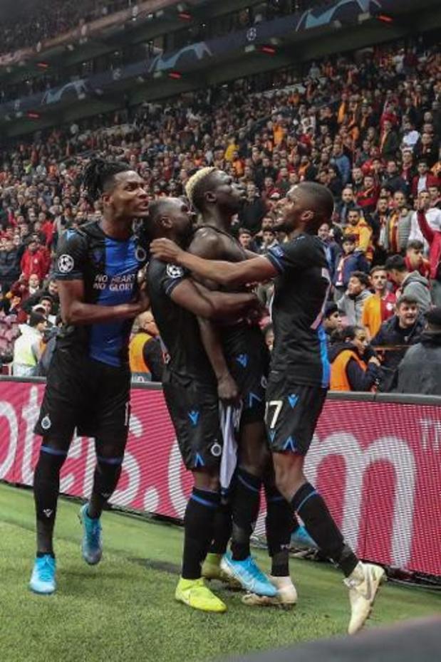 Champions League - Diatta bezorgt Club Brugge met late goal draw bij Galatasaray