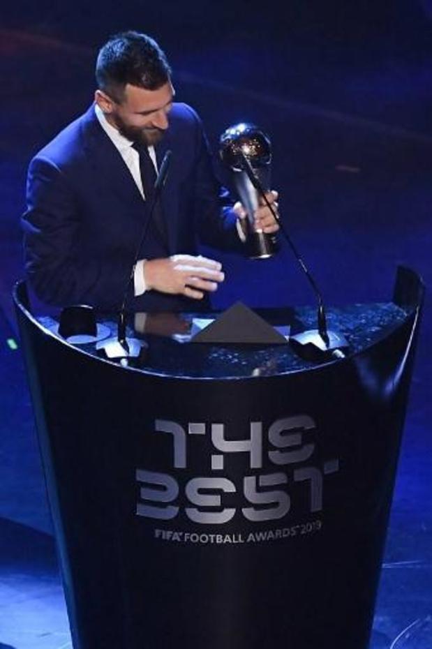 The Best FIFA Football Awards - Lionel Messi is zesde keer FIFA-voetballer van het Jaar