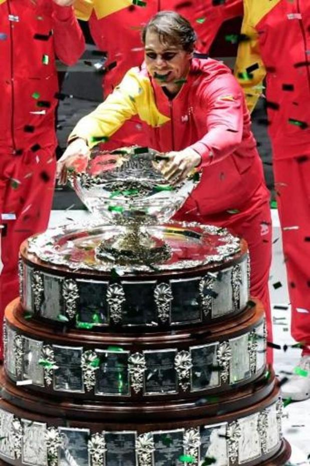 Coupe Davis: la phase finale étendue à 11 jours du 25 novembre au 5 décembre 2021