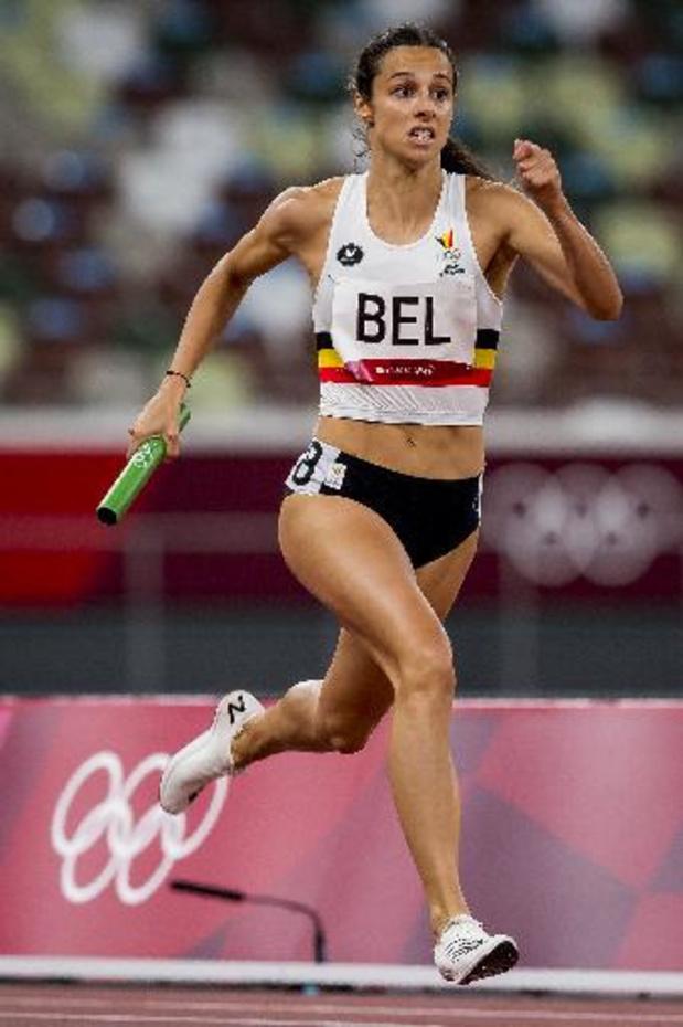 Belgian Cheetahs naar finale met Belgisch record
