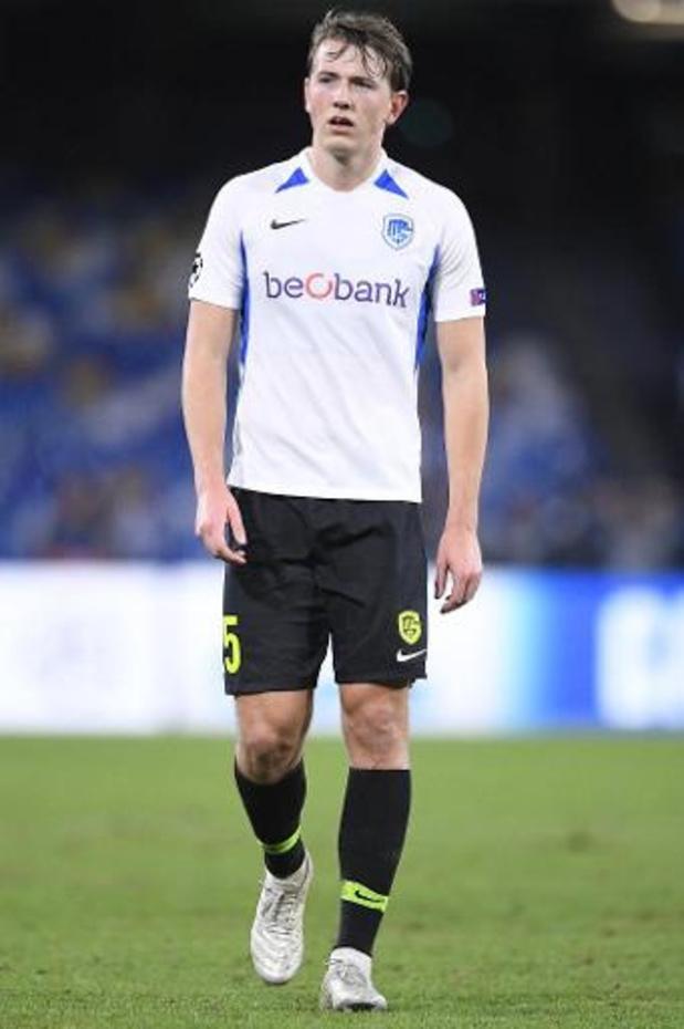 Accord entre Genk et Sheffield United concernant Sander Berge