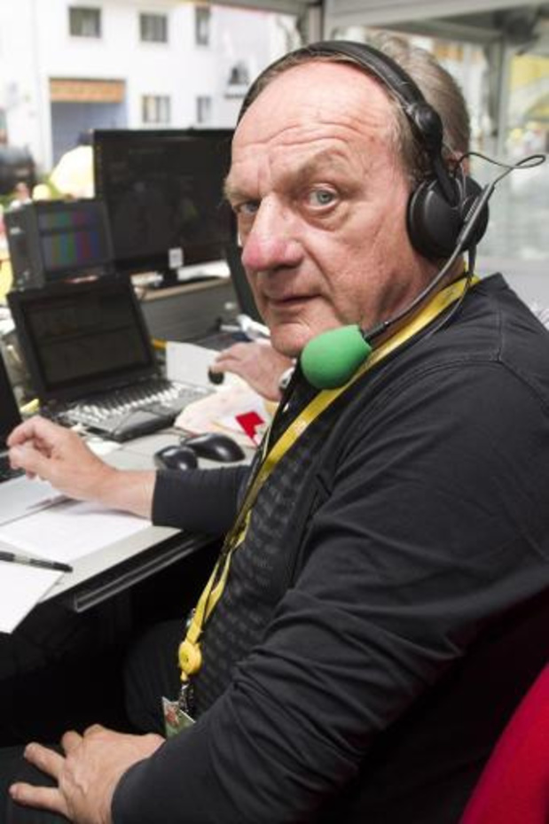 Décès d'André Meganck, figure légendaire du cyclisme à la télévision flamande