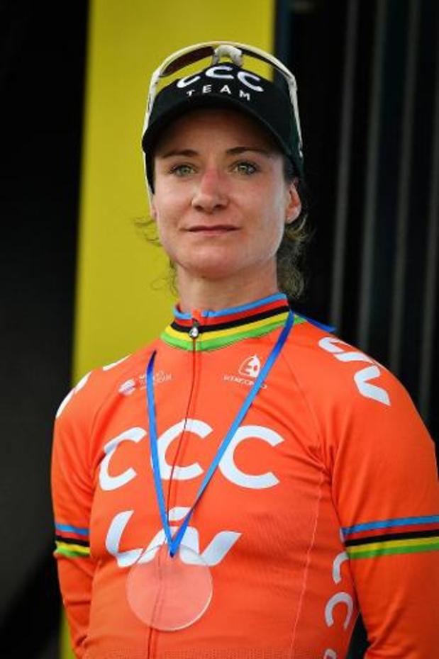 Vos houdt Kopecky van ritwinst in de Giro Rosa