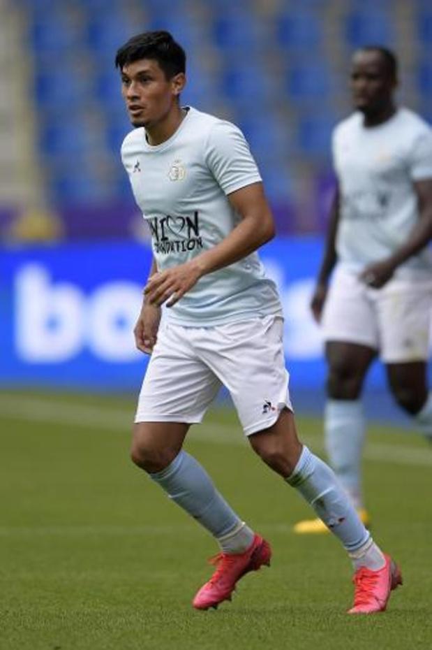 Federico Vega quitte l'Union Saint-Gilloise