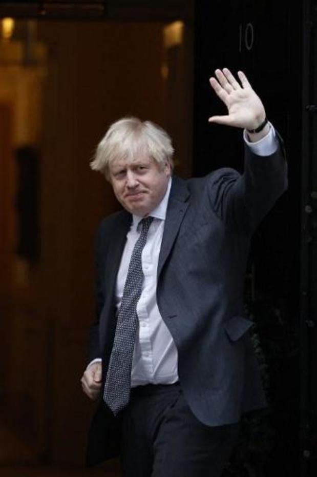 Ook Boris Johnson ondertekent handelsakkoord