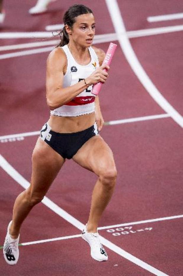 La Belgique 5e du relais 4x400m mixte, la médaille d'or pour la Pologne