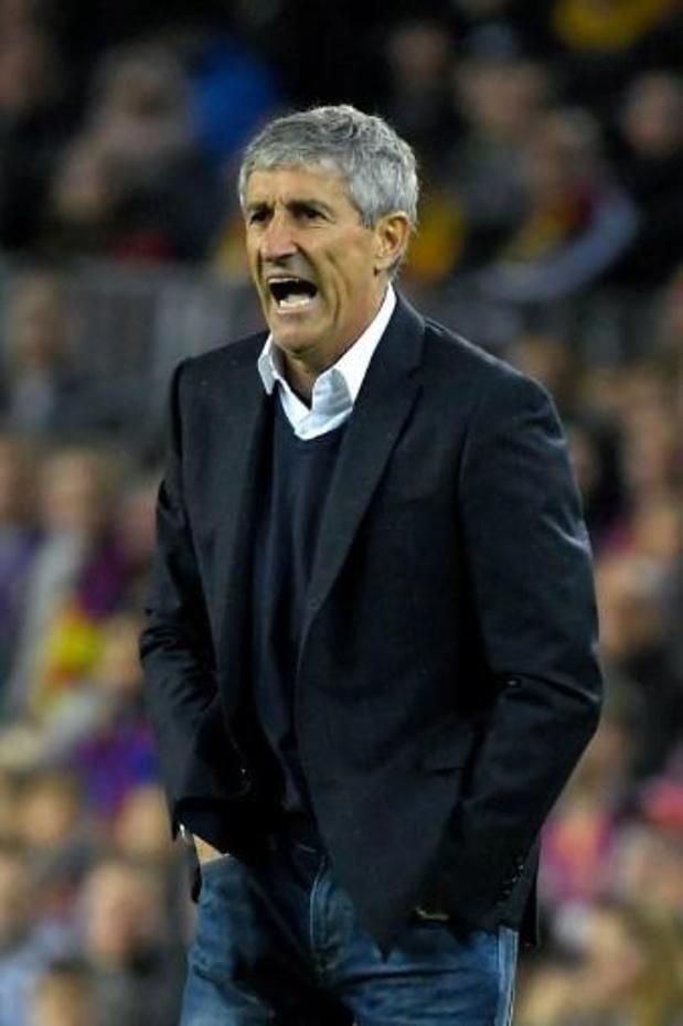 Barcelona-coach Setién vindt het logisch dat Barça kampioen is bij stopzetten van La Liga