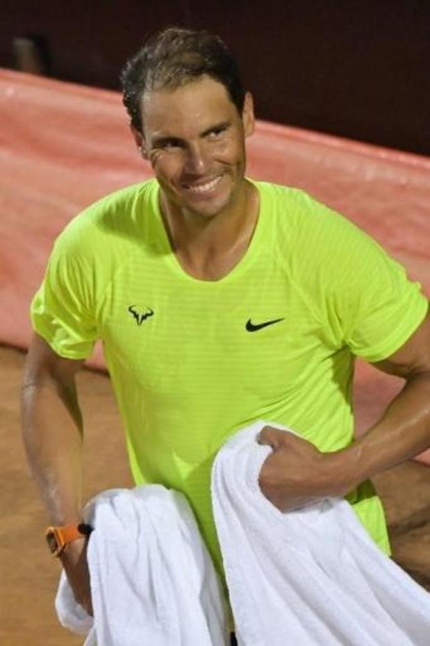 ATP Rome - Nadal viert geslaagde rentree in Rome