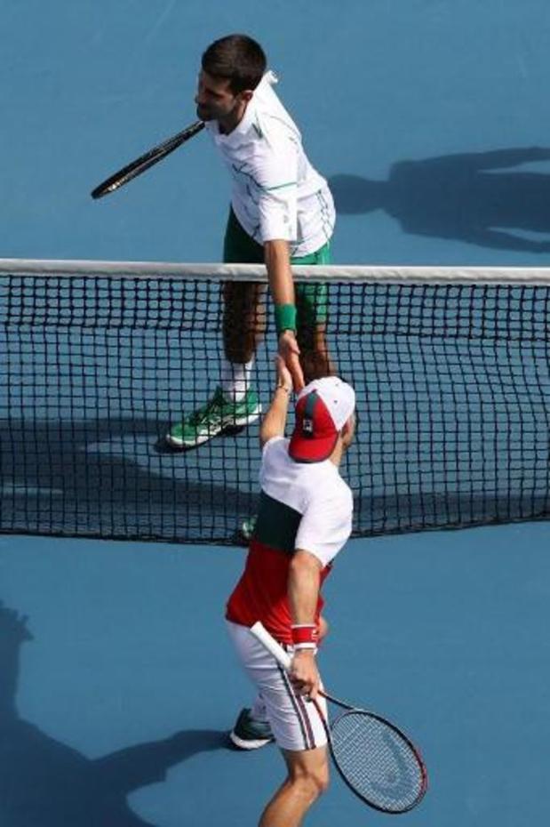 Open d'Australie - Novak Djokovic passe en quarts de finale, la jeune révélation Coco Gauff est éliminée