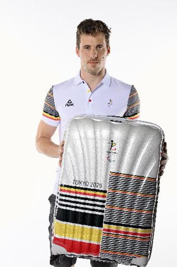Bruno Vanhove et Michèle George porte-drapeau de la Belgique aux Jeux Paralympiques 2020
