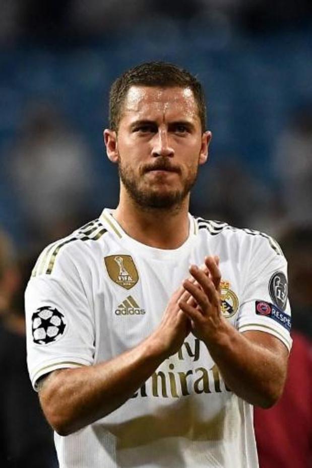 Les Belges à l'étranger - Eden Hazard effectue son retour lors d'un match d'entraînement avec le Real Madrid