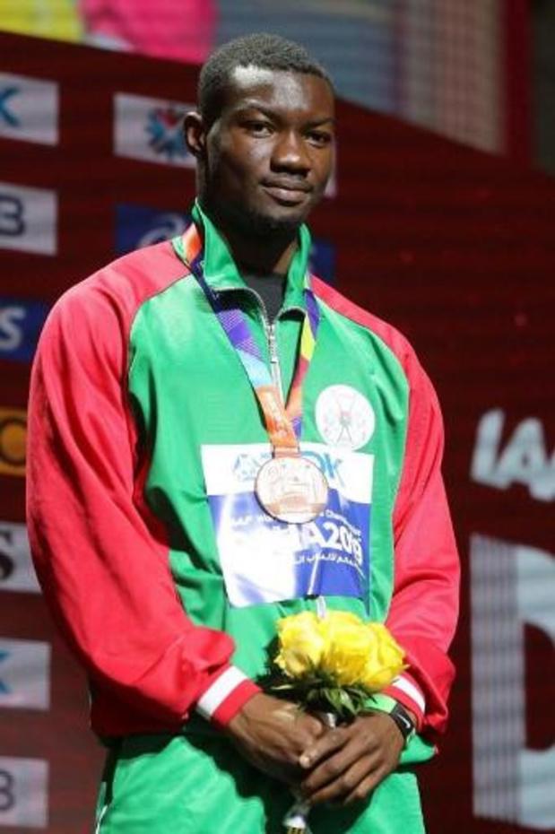 Le Burkinabé Hugues Fabrice Zango bat le record du monde du triple saut en salle