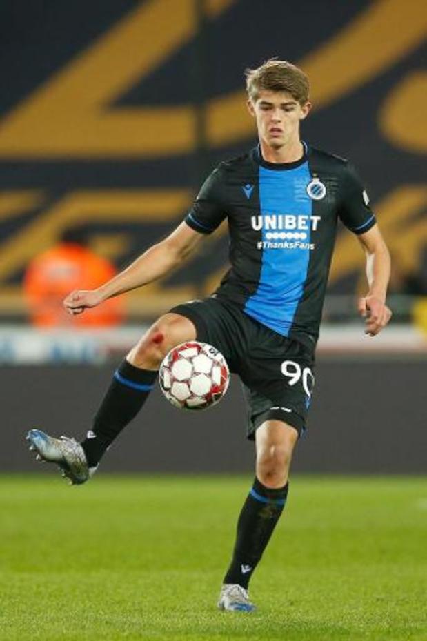 Club Brugge legt Charles De Ketelaere vast tot 2023