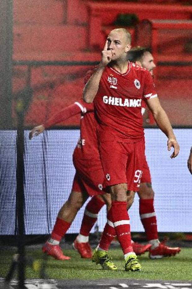 Jupiler Pro League - Antwerp s'impose sur le plus petit écart devant La Gantoise et prend la tête