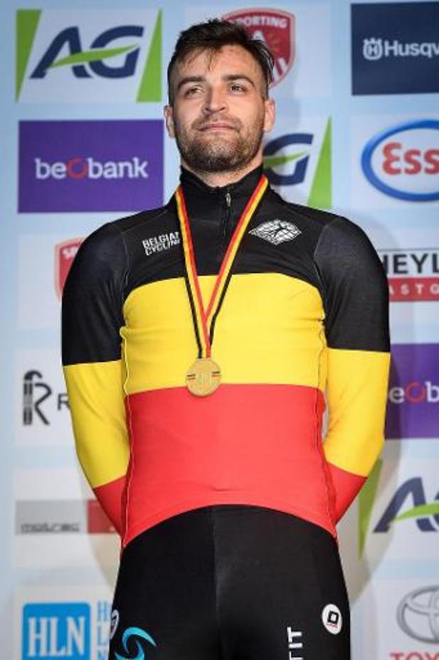 Veldrijder Wietse Bosmans is voorlopig geschorst na verdachte dopingtest