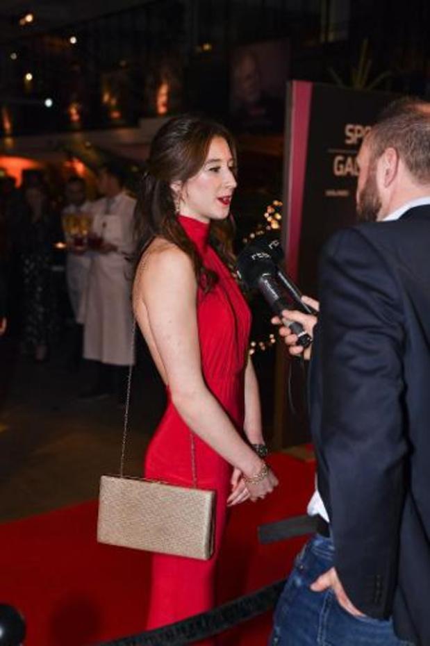 """Sportgala 2019 - Nina Derwael is verrast met nieuwe titel: """"Ik had gedacht dat het dit jaar voor Emma was"""""""