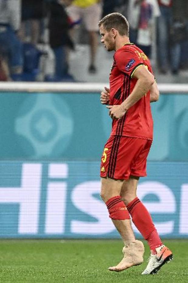 Euro 2020 - Jan Vertonghen incertain pour le Danemark