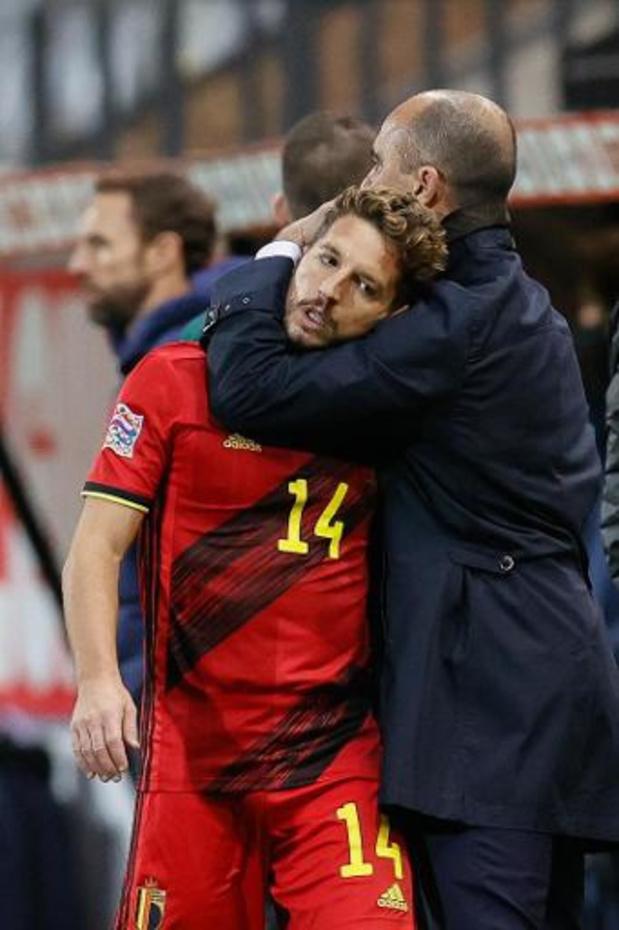 Diables Rouges - Dries Mertens voulait remercier Roberto Martinez pour son aide