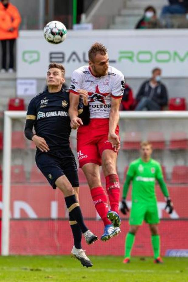 L'Antwerp prend trois points à Zulte Waregem