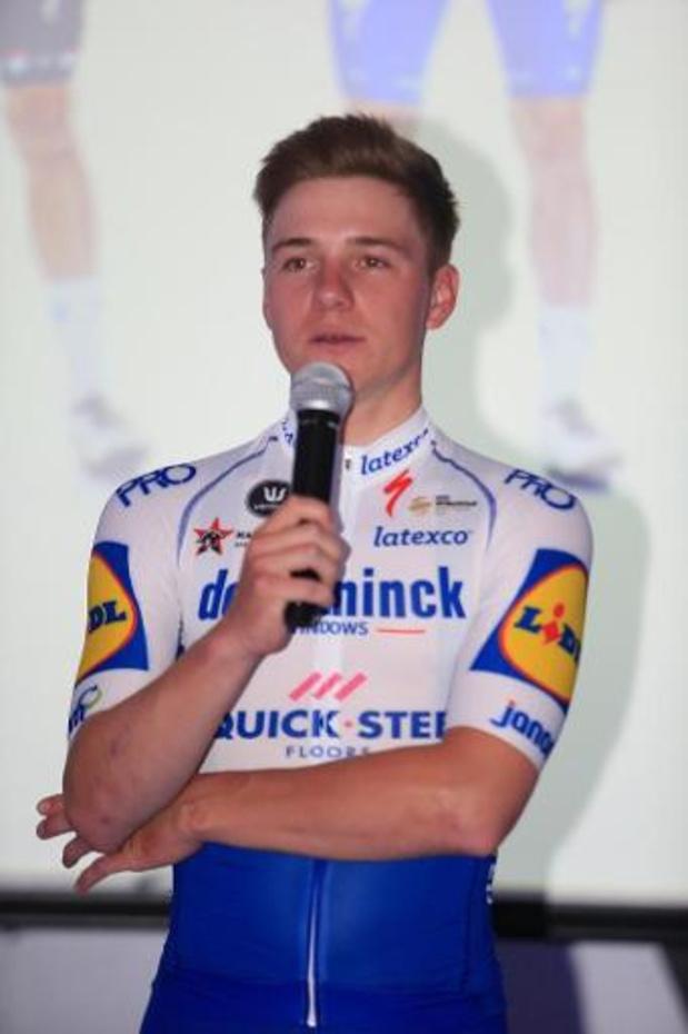 Remco Evenepoel prêt à découvrir le Giro sans avoir couru d'épreuves au préalable