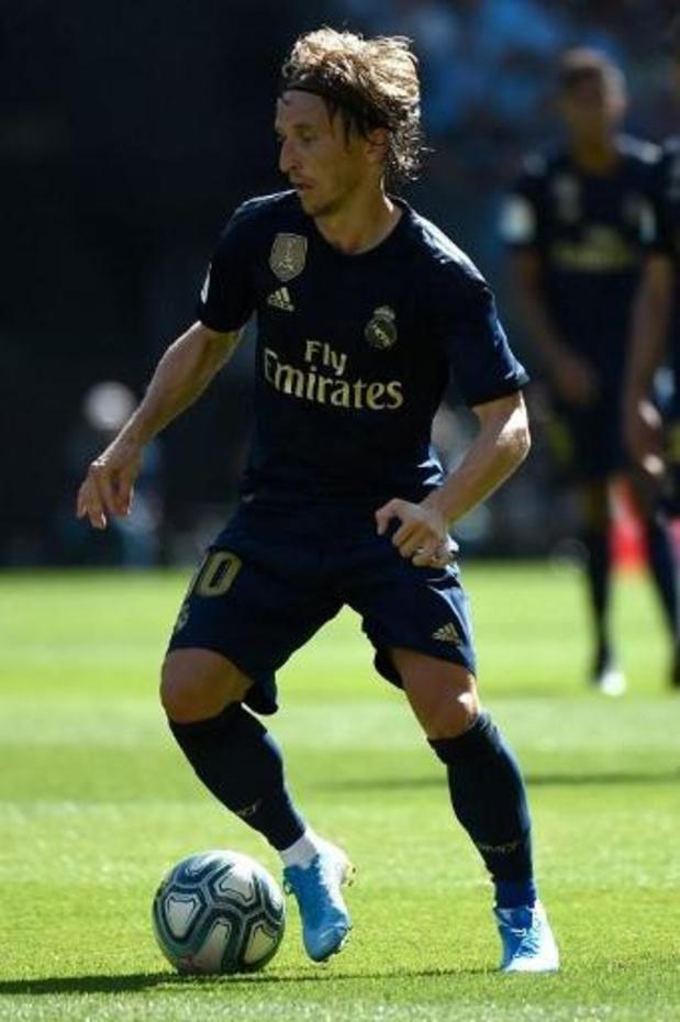 Luka Modric (Real Madrid) blessé aux adducteurs